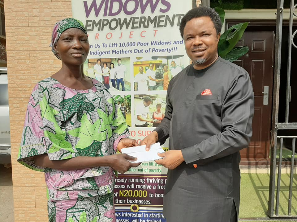 widows and indigent mothers