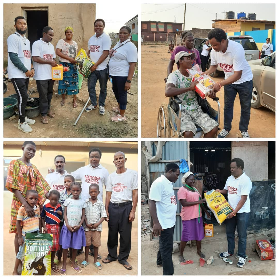Azemobor Gregory Foundation 'Christmas without Hunger'  Outreach